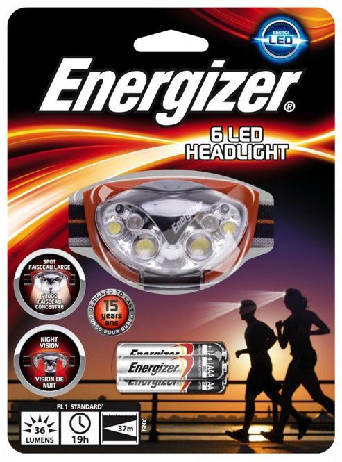 Energizer Headlight X 6 - Plastic