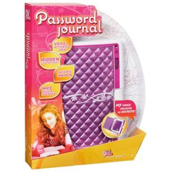 Girl Tech Password Journal