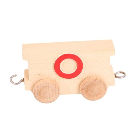 Bigjigs Toys BJ201O Name Train Letter O