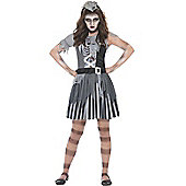 Ghost Ship Pirate Girl - Child Costume 12-13 years