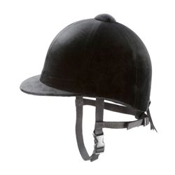 Tesco Black Horse Riding Helmet