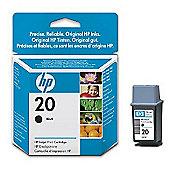 HP 20 Large Black Inkjet Print Cartridge