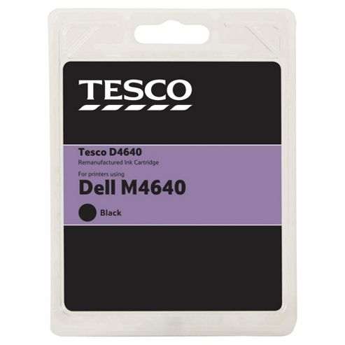 Tesco D14 Black Printer Ink Cartridge (Compatible with printers using Dell M4640 Cartridge)