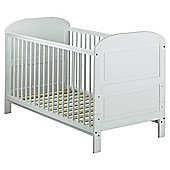 East Coast Angelina Cot Bed, Pure White