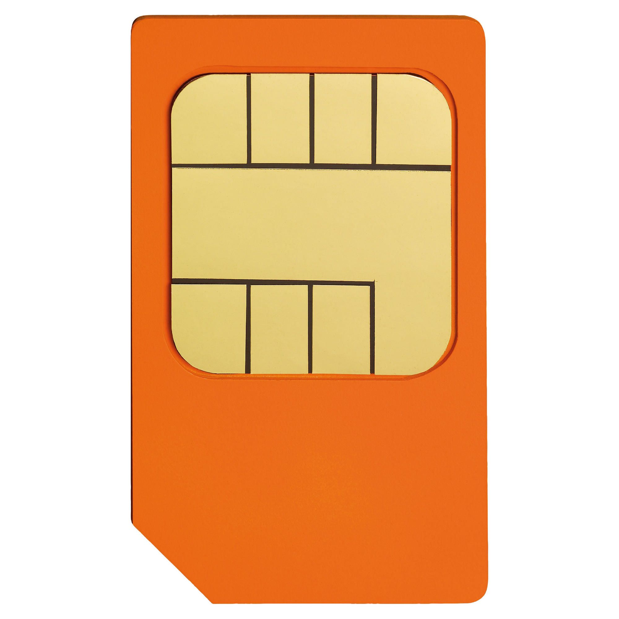 How do you activate an Orange SIM card?