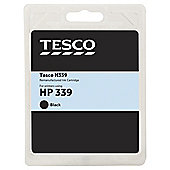 Tesco H160 remanufactured Black Printer Ink Cartridge (Compatible with printers using HP 339 Cartridge)