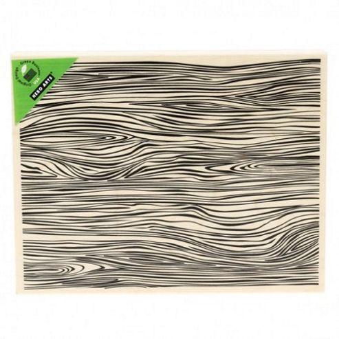 Designer Woodgrain Rubber Stamp