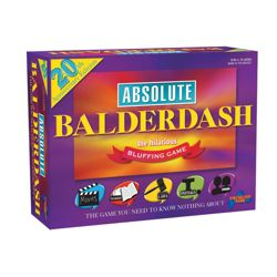 Absolute Balderdash 20th Anniversary Board Game