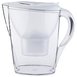 BRITA Marella 2.4 Litre Water Filter Jug, Cool White