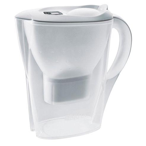 BRITA Marella 2.4 Litre Water Filter Jug, Cool White
