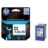 HP 22 Printer Ink Cartridge - Tri-Colour (C9352AE)