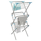 Minky 3 Tier Indoor Clothes Airer With Flip Outs