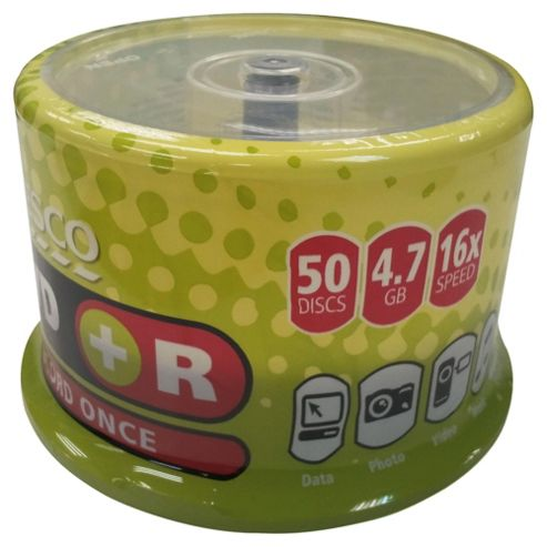 Tesco DVD+R spindle - pack of 50