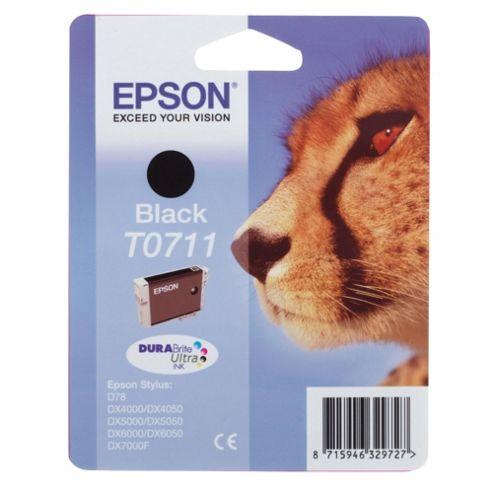 Epson T0711 Printer Ink Cartridge - Black