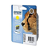Epson Singlepack Yellow T0714 DURABrite Ultra Ink
