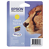Epson T0714 Printer Ink Cartridge - Yellow
