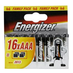 Energizer 16 Pack AAA batteries