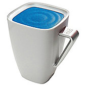 Wowthem Mighty Sound Mug Bluetooth Speaker White/Blue