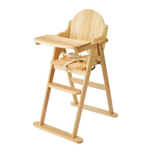 East Coast Wooden Folding Highchair
