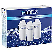 BRITA Classic 3 Pack Water Filter Cartridges