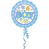 """18"""" It's A Boy Foil Balloon (each)"""