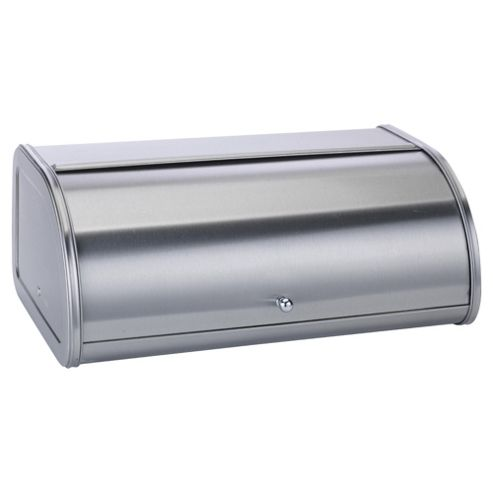 buy stainless steel roll top bread bin from our bread bins. Black Bedroom Furniture Sets. Home Design Ideas