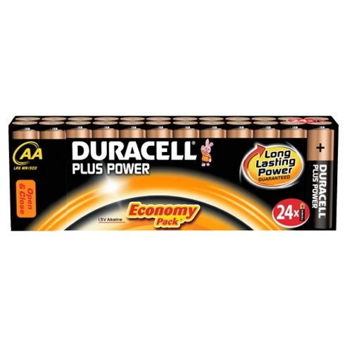 Duracell 24 Pack AA Batteries