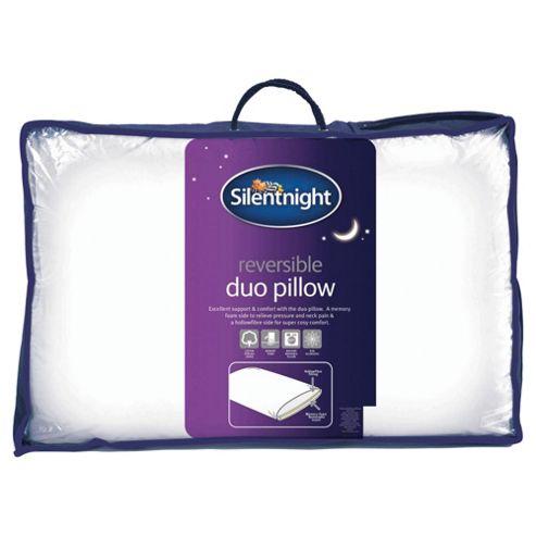 Silentnight Reversible Memory Foam Duo Pillow