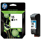 HP 15 Printer Ink Cartridge - Black (C6615DE)
