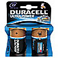 Duracell 2 Pack D Batteries