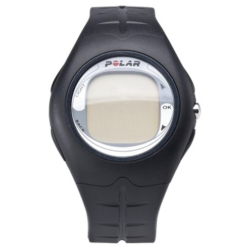 Polar FT 4 Male Sports Watch/Heart Rate Monitor, Silver