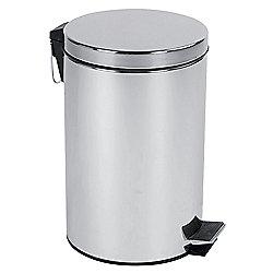 12L Pedal Bin - Stainless Steel