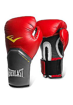 Everlast Pro Style Elite Training Boxing Gloves - Red