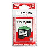 Lexmark 27 Colour Printer Ink Cartridge - Tri-Colour