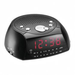 Tesco Value CR-106 Clock Radio Black