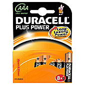 Duracell Plus 8 Pack AAA Batteries