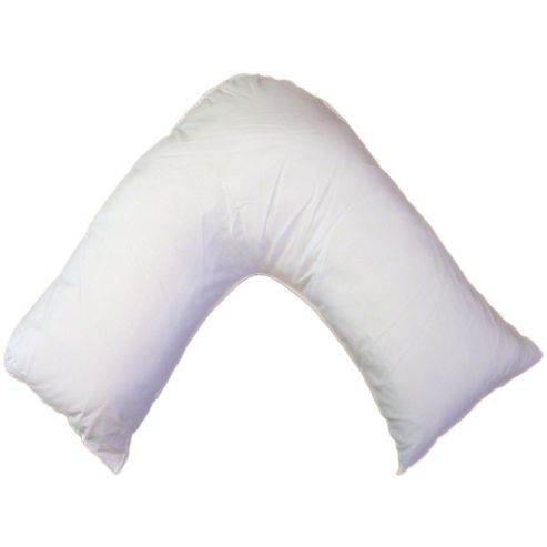 Hollow Fibre Filling V Shaped Pillow