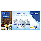 BRITA Maxtra Water Filter Cartridges, 3-Pack