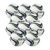 Mitre Ultimatch Footballs, 10 Pack, Size 3