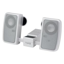 Logic3 IP-102 i-Station Travell Speaker (Silver)
