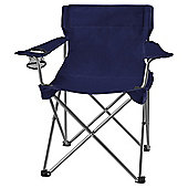 Tesco Folding Camping Chair, Blue
