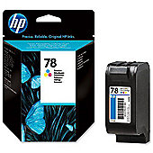 HP 78 Printer Ink Cartridge - Colour (C6578D)