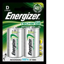 Energizer 2 Pack Rechargeable D batteries