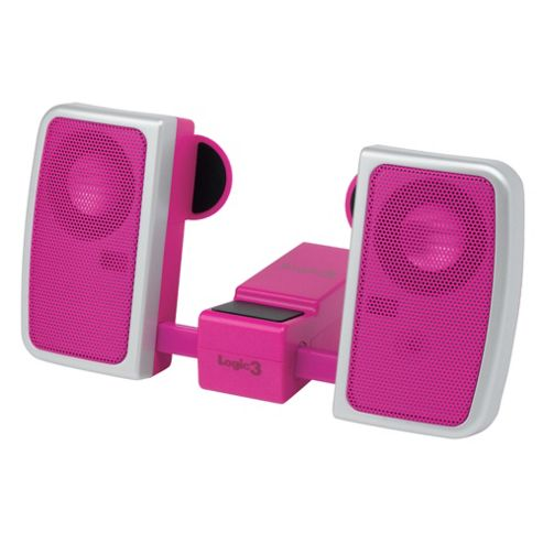 Logic3 IP-102 i-Station Travel Speaker (Pink)