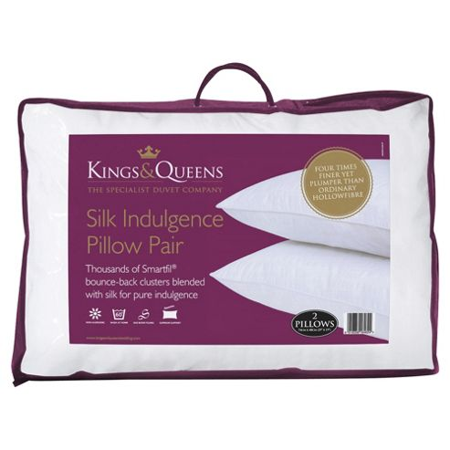 Kings & Queens Pillow Twinpack - Silk Indulgence