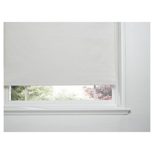 Thermal Blackout Blind, Cream 90Cm