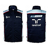 AT&T Williams Official Formula 1 Gilet Jacket - Navy
