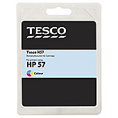 Tesco H100 remanufactured Colour Printer Ink Cartridge (Compatible with printers using HP 57 Cartridge)