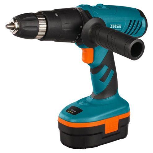 Tesco 18V Cordless Hammer Drill