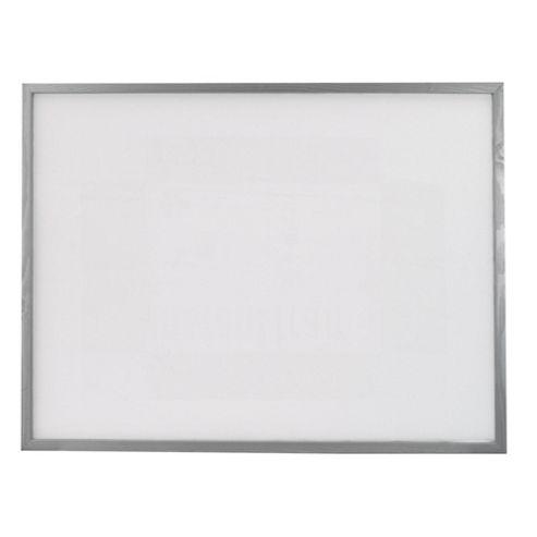 Backloader Frame, Silver Effect 60X80Cm